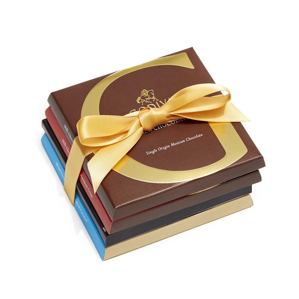 Artisan Chocolate Bar Top Sellers Gift Set, 4 pc.