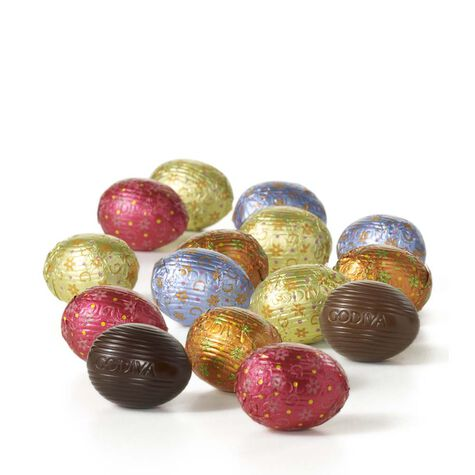 Foil-Wrapped Chocolate Easter Egg Bag