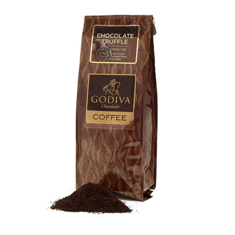 Truffle Coffee, 10 oz. Ground & Chocolate Biscuit Tin, 36 pc.