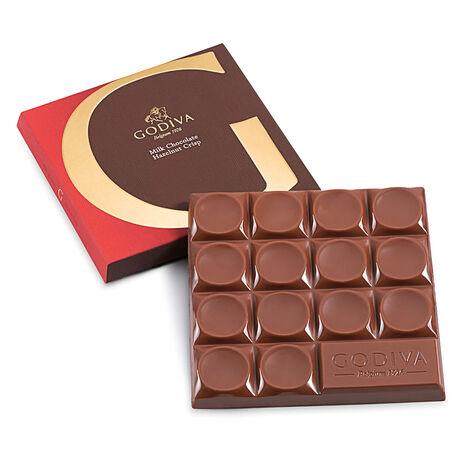 Mexico Milk Chocolate Hazelnut Crisp Bar, 42% Cocoa, 2.7 oz.