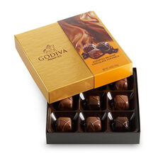 Assorted Caramel Chocolate Gift Box, 9 pc.