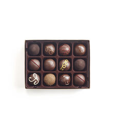 Dark Chocolate Truffles, 12 pc.