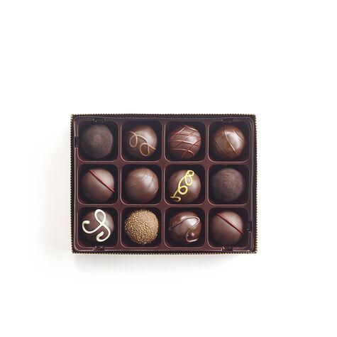 Dark Chocolate Truffles, 12 pc.