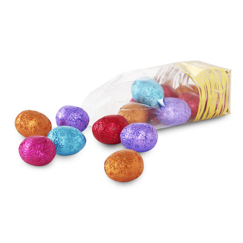 Foil-Wrapped Easter Eggs