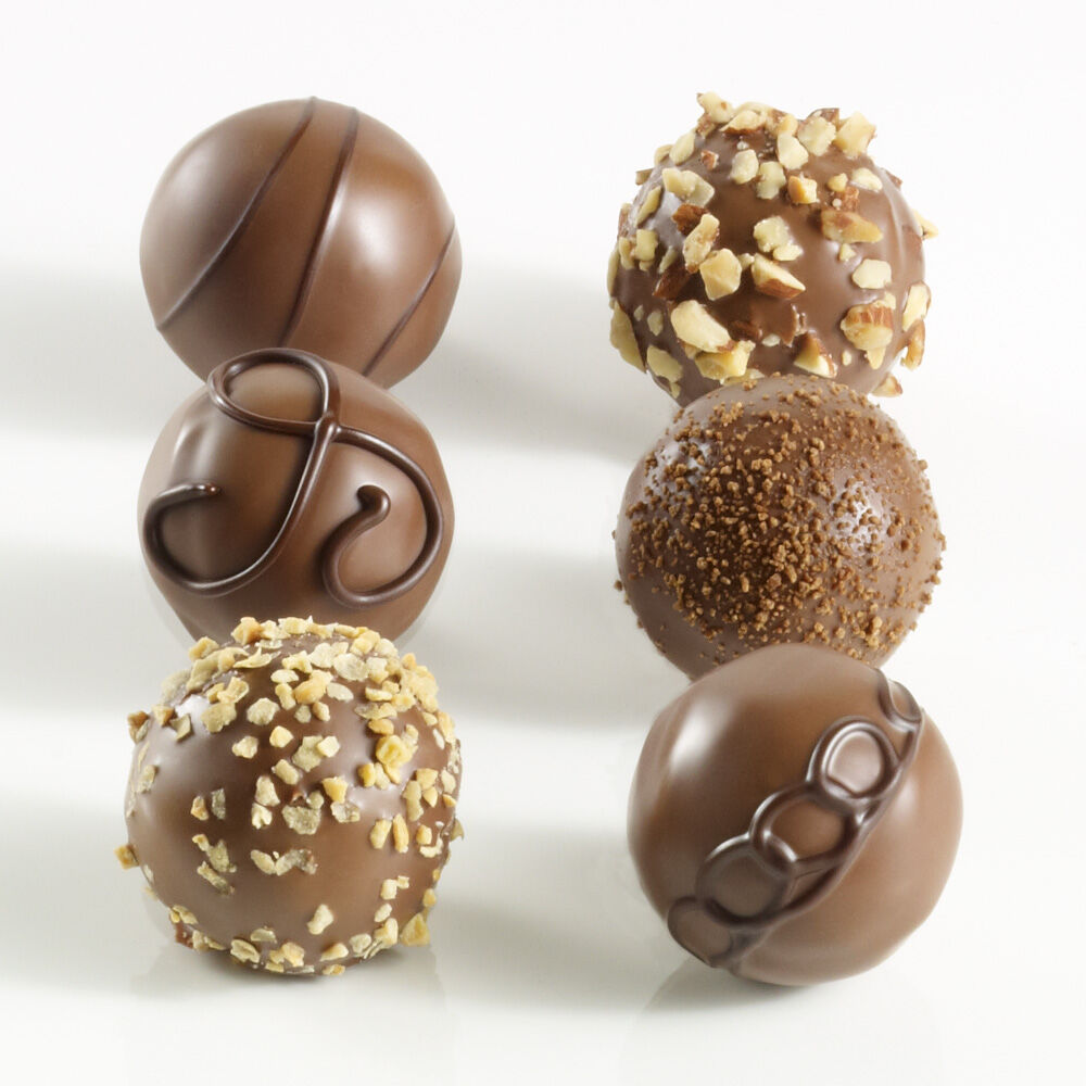 Milk Chocolate Lovers Truffle Flight, 6 pc.