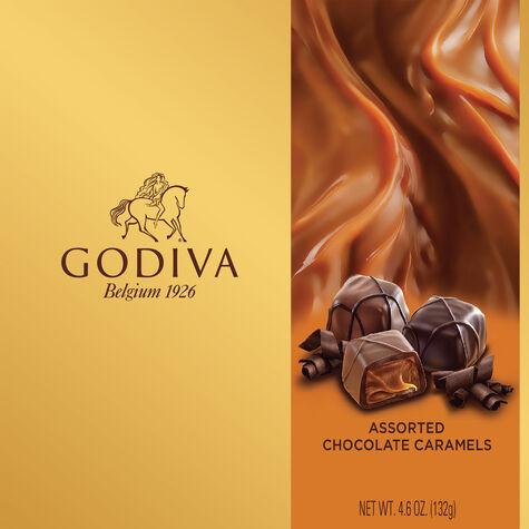 Assorted Caramel Chocolate Gift Box, 9 pc.