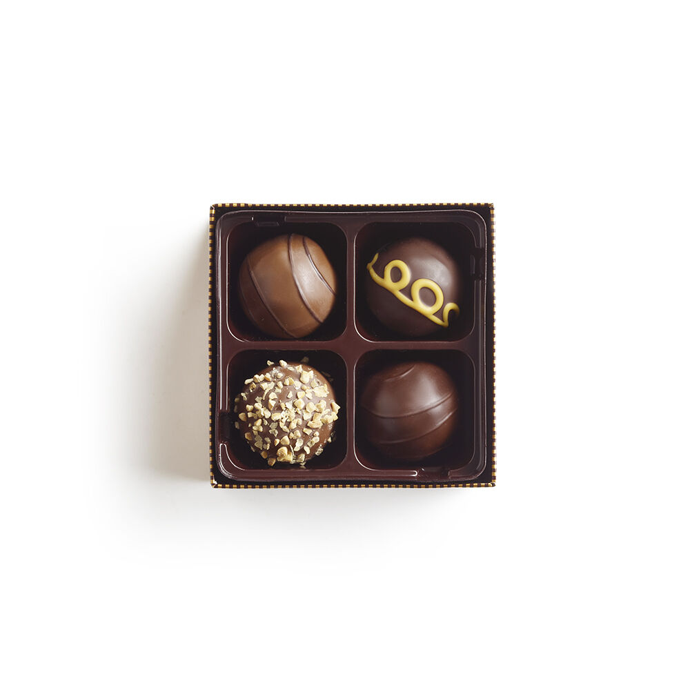 4 pc. Signature Chocolate Truffles