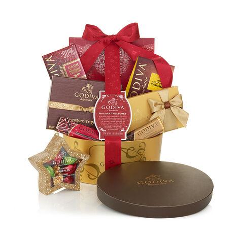 Holiday Treasures Basket