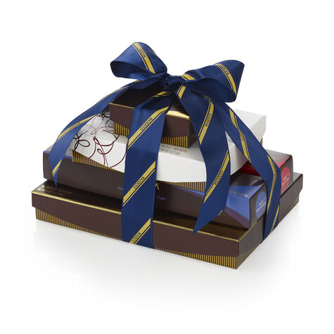 Totally Truffles Tower, Striped Tie Ribbon