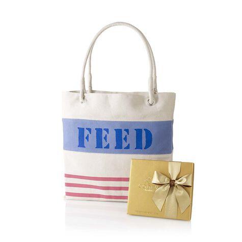 Gold Ballotin and FEED Bag