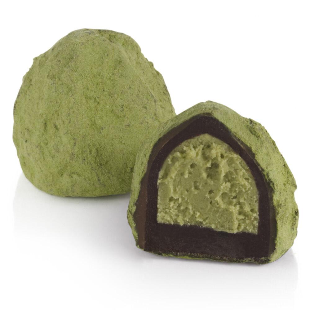 Green Tea Mousse Truffle