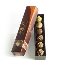 6 pc. Nut Lovers Truffle Flight