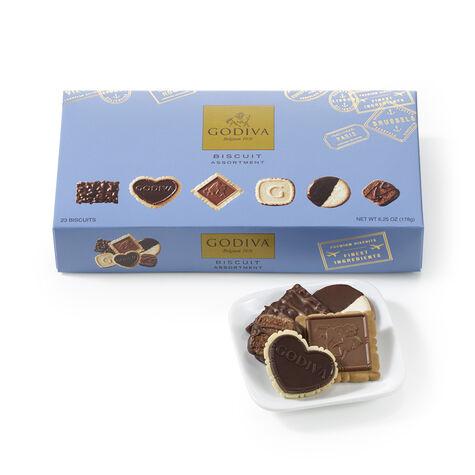 Chocolate Biscuits & Michael Aram Block Cracker Plate