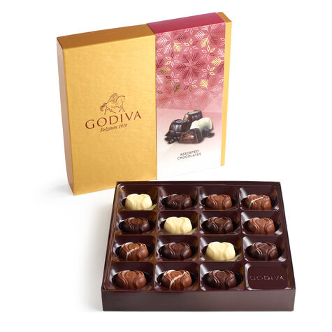 Assorted Chocolate Bliss Gift Box, Holiday, 15 pc.