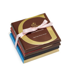 Artisan Chocolate Bar Top Sellers Gift Set, Pink Ribbon, 4 pc.