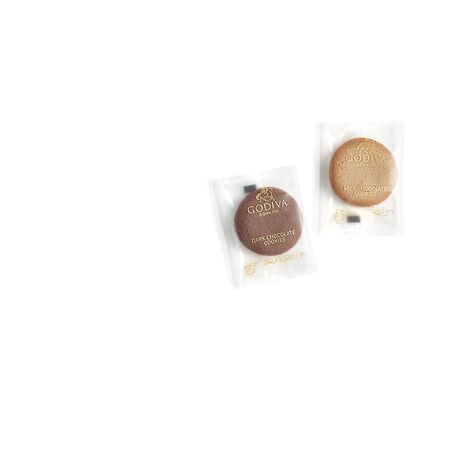 Cookie Tin - Gold Ribbon, 18 pc.
