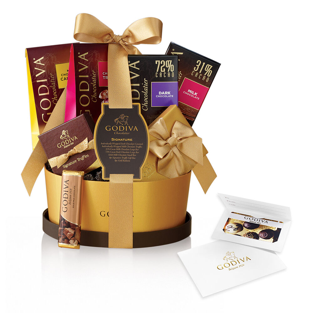 $25 Gift Card & Signature Chocolate Gift Basket