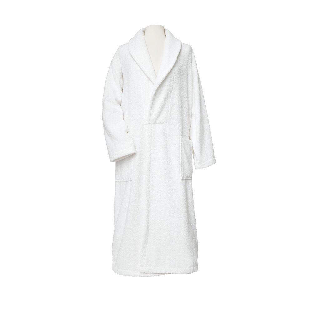 White 100% Turkish Cotton Robe