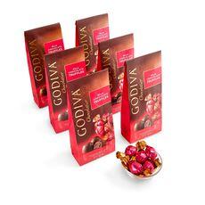 Milk Chocolate Truffles, Individually Wrapped, Set of 6