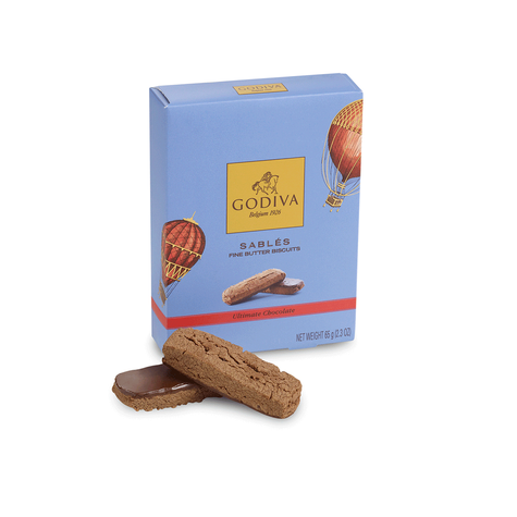 Ultimate Chocolate Sablés Biscuit, 6 pc.