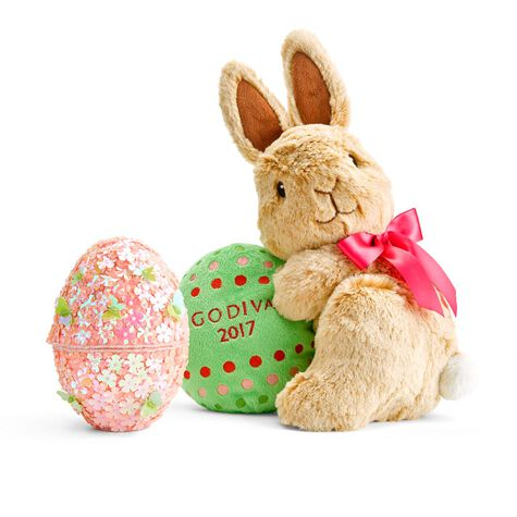 Beaded Egg and Limited Edition Plush Bunny