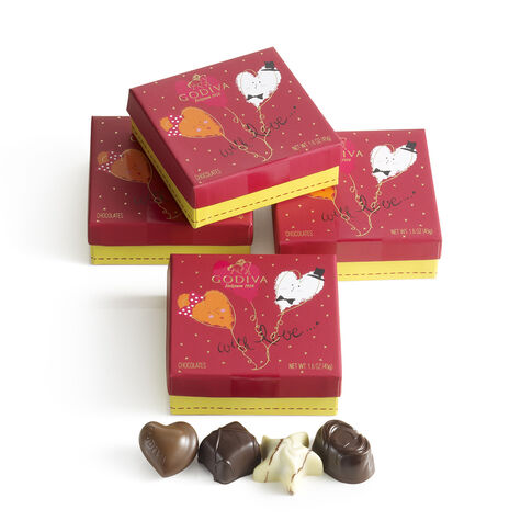 Valentines Day Favors (Set of 4)