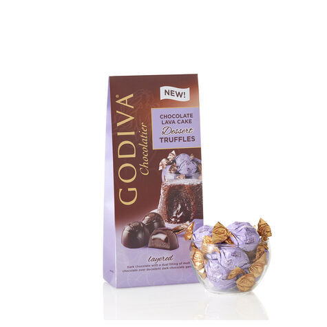 Gold Trim Bowls & Dark Chocolate Lovers Gift Set