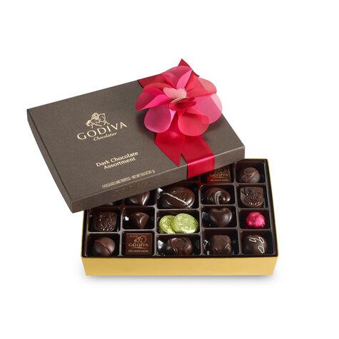 27 pc. Dark Chocolate Valentines Day Gift Box