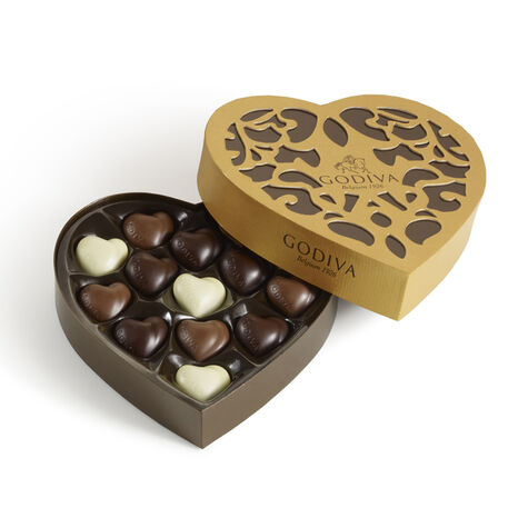 14 pc. Heart Gift Box - Medium
