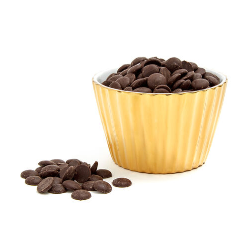 Dark & Milk Chocolate Baking Chocolates , Set of 2, 12 oz. each