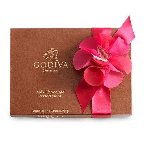 22 pc. Milk Chocolate Valentines Day Gift Box