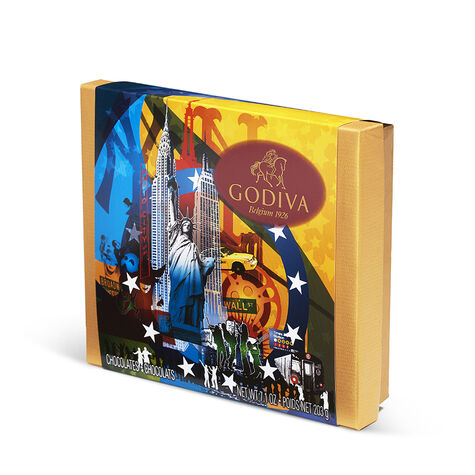 Assorted Chocolate Souvenir Gift Box, New York, 19 pc.