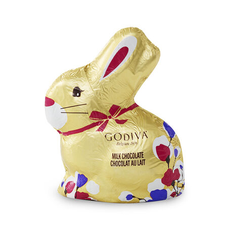 Foil-Wrapped Milk Chocolate Easter Bunny