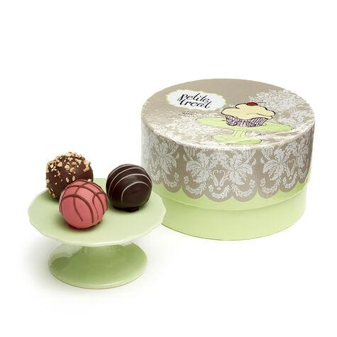 Mini Dessert Pedestal, Green