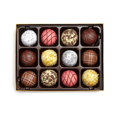Assorted Chocolate Cookies, 18 pc and Patisserie Dessert Truffles, 12 pc.