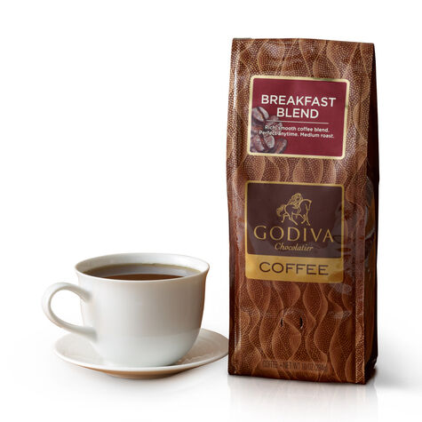 Breakfast Blend Coffee, Ground, 10 oz.
