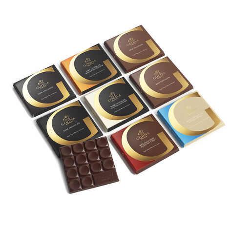 G by Godiva Chocolate Sampler, Set of 8, 2.7 oz. each