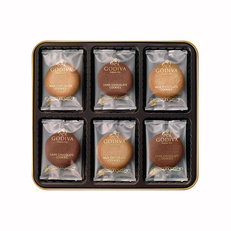 Assorted Sandwich Cookie Gift Tin, 18 pc.