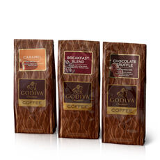 Assorted Coffee, Ground, Set of 3, 10 oz. Each