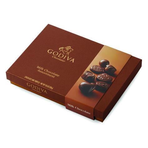 Milk Chocolate Gift Box. 22 pc.