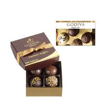 $25 GODIVA Gift Card and 4 pc. Signature Chocolate Truffles