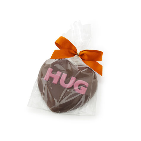 Milk Chocolate HUG Heart