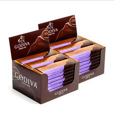 Dark Chocolate Bar, Pack of 48, 1.5 oz each