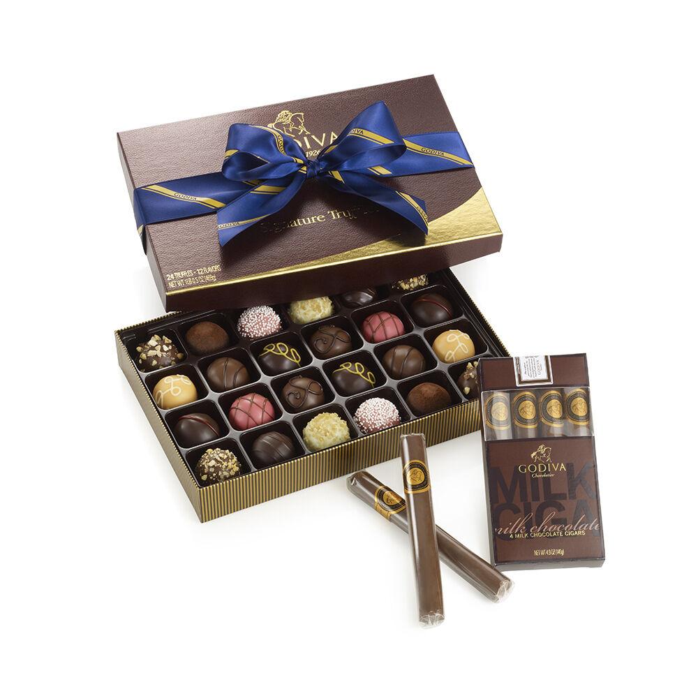 Signature Truffles Chocolate Cigars Gift Set