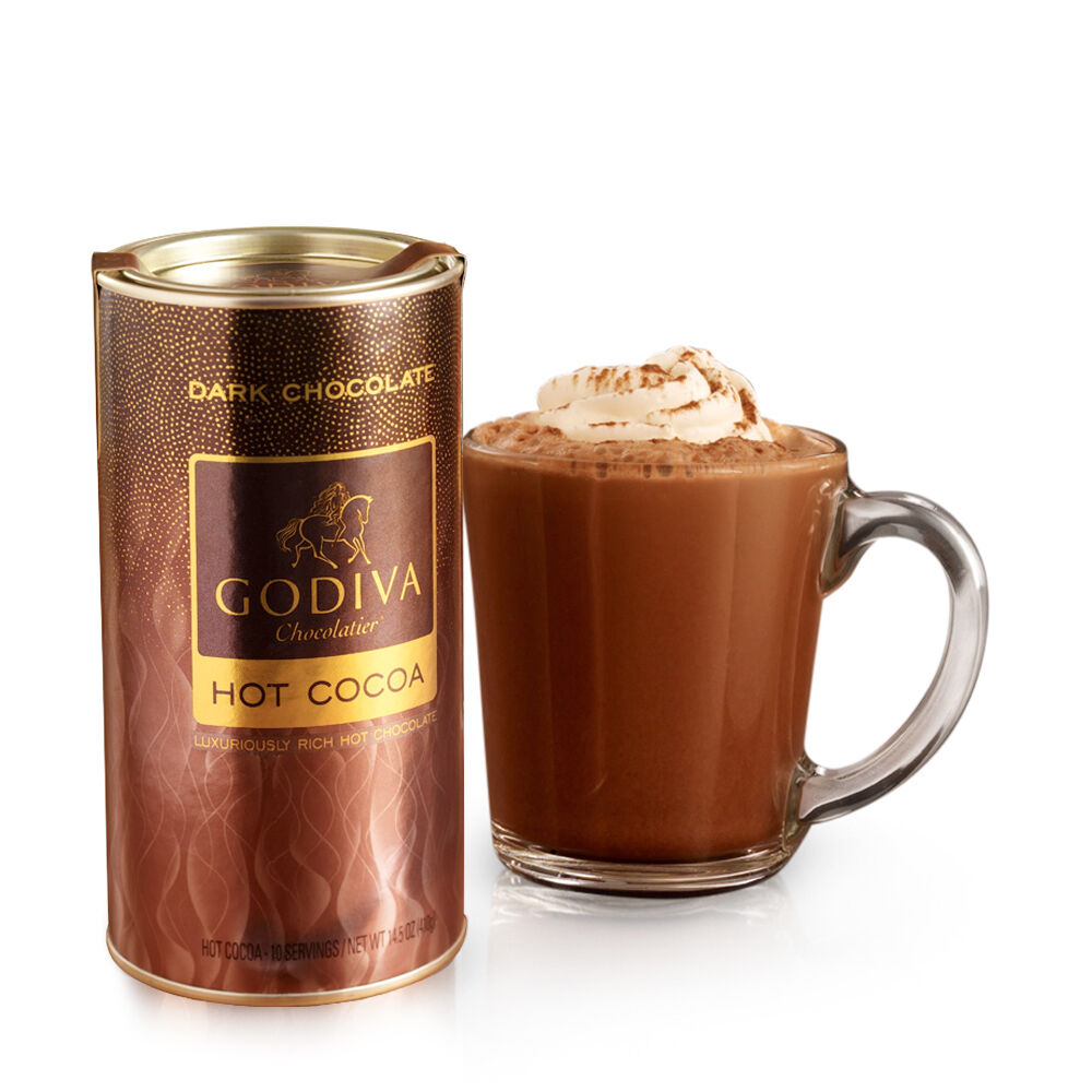 Dark Chocolate Hot Cocoa Canister, 10 Servings