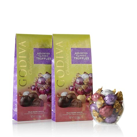 Wrapped Assorted Spring Chocolate Truffles (Set of 2)