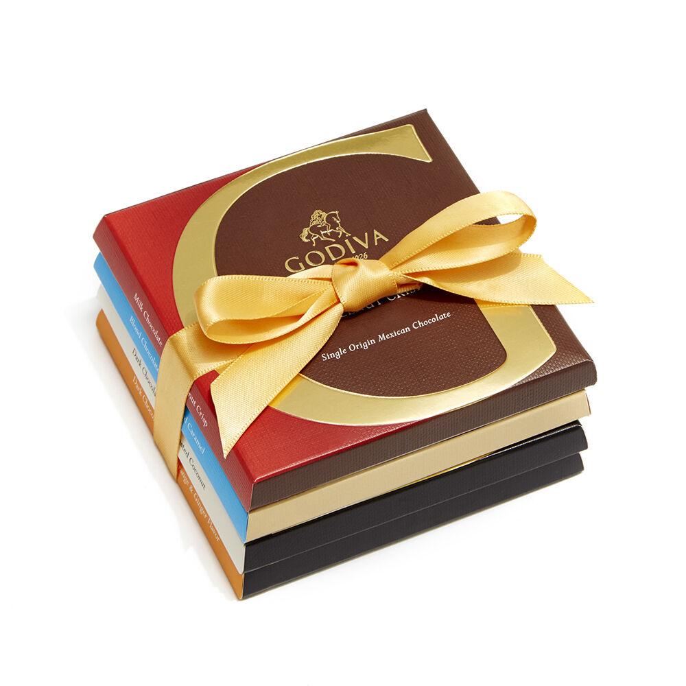 Artisan Chocolate Bar Inclusions Gift Set, 4 pc.