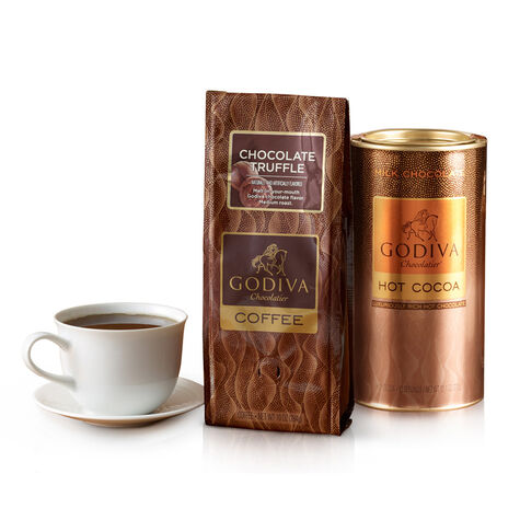 Chocolate Coffee and Cocoa Gift Set