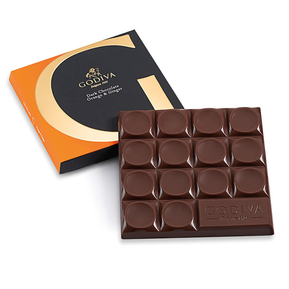 Mexico Dark Chocolate Orange & Ginger Bar, 68% Cocoa, 2.8 oz.