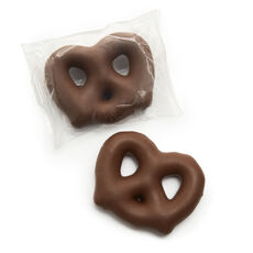 Milk Chocolate Covered Bavarian Pretzels, 24 pc.